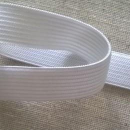 Резинка плоская 20мм белая (40 метров)