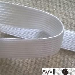 Резинка плоская 60мм белая (40 метров)