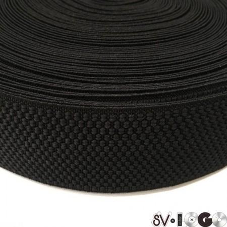 Резинка 50 мм классика черный (50 метров)