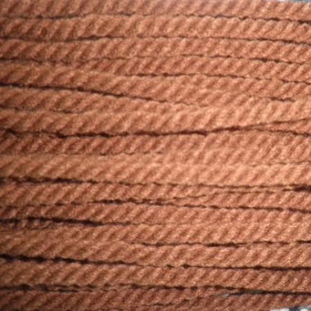 Шнур канат 8мм акриловый коричневый (50 метров)