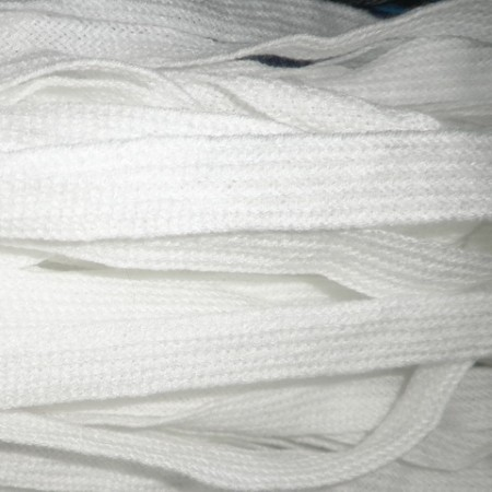 Шнур плоский АК 20 мм белый (50 метров)