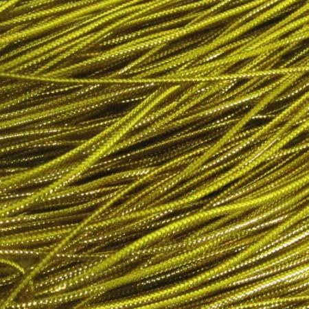 Шнур люрекс 1мм золото (200 метров)