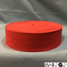 Резинка 50мм красный (25 метров)