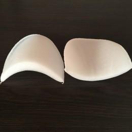 Плечевые накладки, подплечники трикотажные 16мм (16х110х105) белые (50 пар)
