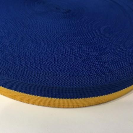 Тесьма окантовочная 20мм желтый синий Украина (50 метров)