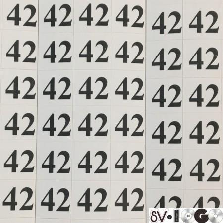 Размеры клеевые (320 на листе) 42 (лист)
