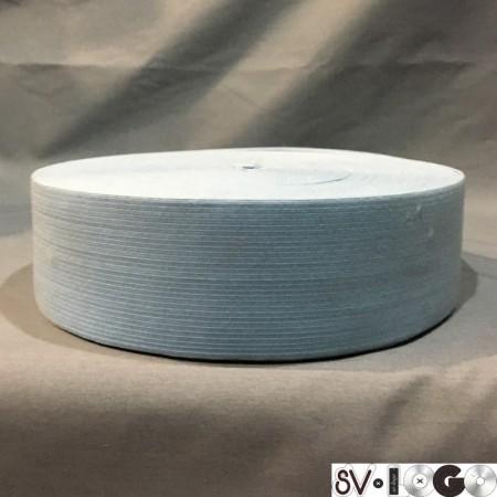 Резинка 50 мм голубой (25 метров)