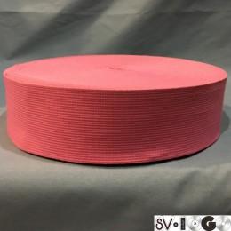 Резинка 50мм розовый (25 метров)