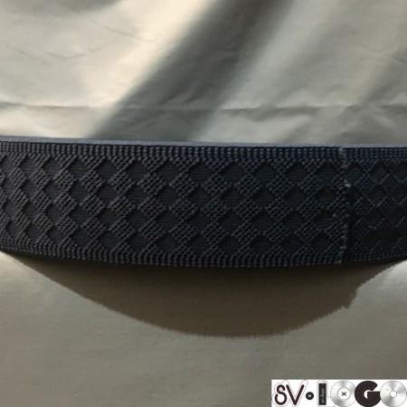 Резинка 50 мм ромб синий (50 метров)
