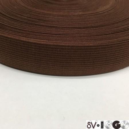 Резинка плоская 27 мм коричневый (40 метров)