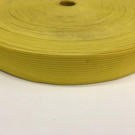 Резинка плоская 27мм желтый (40 метров)