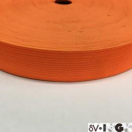 Резинка плоская 27мм оранжевый (40 метров)