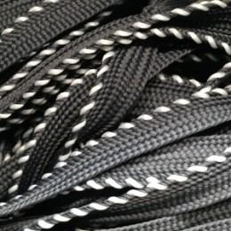 Шнур кант 25 10мм серый (50 метров)