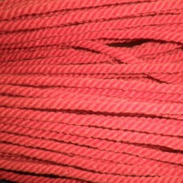 Шнур канат 8мм акриловый красный (50 метров)