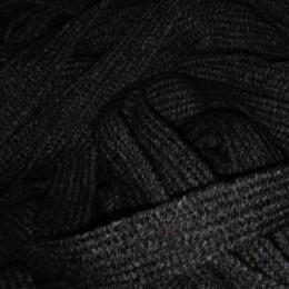 Шнур плоский АК 15мм черный (50 метров)