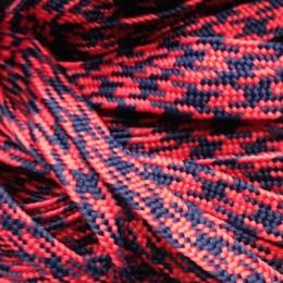 Шнур плоский ПЭ 12мм красно синий (100 метров)