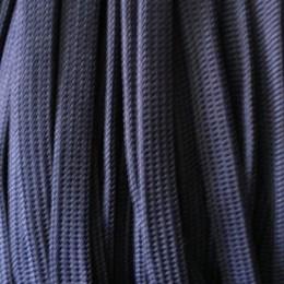 Шнур плоский чехол ПЭ40 20мм синий (50 метров)