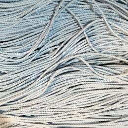 Шнур круглый 2мм голубой (100 метров)