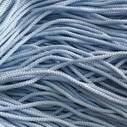 Шнур круглый 4мм голубой (200 метров)