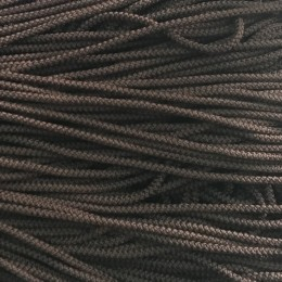 Шнур круглый 4мм коричневый (200 метров)