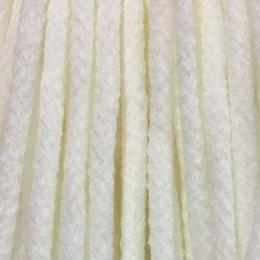 Шнур круглый 6мм акриловый белый (100 метров)