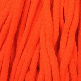Шнур круглый 6мм акриловый оранжевый (100 метров)