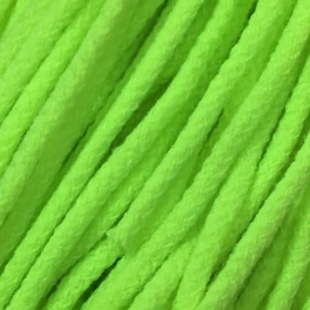 Шнур круглый 6 мм акриловый салатовый (100 метров)
