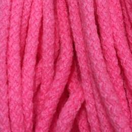 Шнур круглый 6мм акриловый розовый (100 метров)