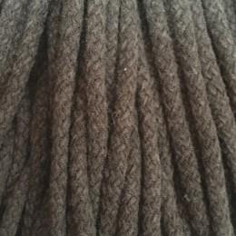 Шнур круглый 8мм акриловый коричневый (100 метров)