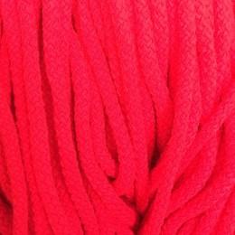 Шнур круглый 8мм акриловый красный (100 метров)