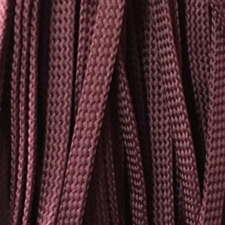 Шнур плоский чехол ПЭ8 мм сливовый (100 метров)