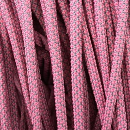 Шнур круглый 6 мм 32 розово серый (100 метров)