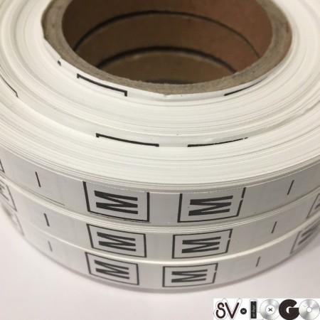 Размерная лента (накатка) M (1000 штук)