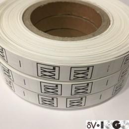 Размерная лента (накатка) XXL (1000 штук)