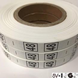 Размерная лента (накатка) 48 (1000 штук)