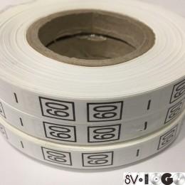 Размерная лента (накатка) 60 (1000 штук)