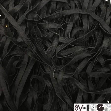 Резинка 6,5 мм черный (50 метров)