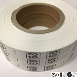 Размерная лента (накатка) 68 (1000 штук)
