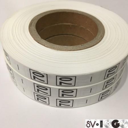 Размерная лента (накатка) 70 (1000 штук)