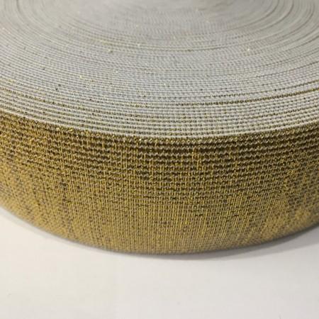Резинка 40мм золото (25 метров)