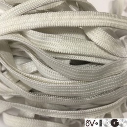 Резинка 6,5мм белый (50 метров)
