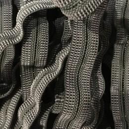 Резинка 10мм с леской серая (метр )