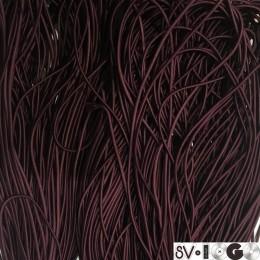 Резинка шнур производство 2,5см бордо (50 метров)