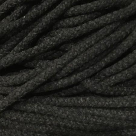 Шнур круглый 8мм акриловый черный (100 метров)