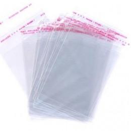 Пакет для одежды с клеевым клапаном 26х42см (100 штук)