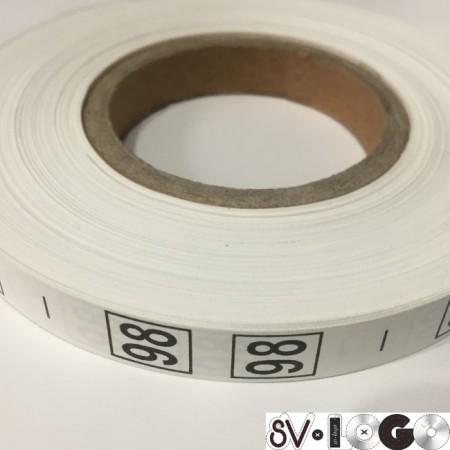 Размерная лента (накатка) 98 (1000 штук)