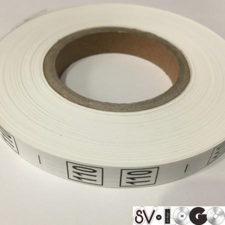 Размерная лента (накатка) 110 (1000 штук)