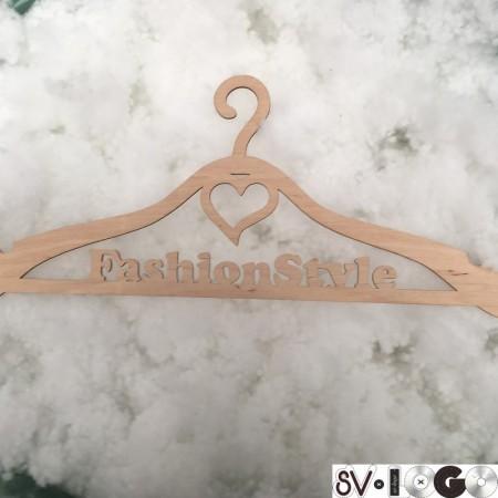 Плечики вешалки для одежды с логотипом Fashion Style 4мм (Штука)