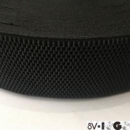 Резинка 50мм пупырышки черный (25 метров)