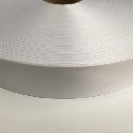 Лента для печати на термопритере сатен (атлас) 30мм  (400 метров)